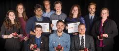 OMN students with their Apple awards